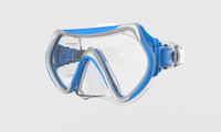 anti-fog glass silicone diving mask -m58